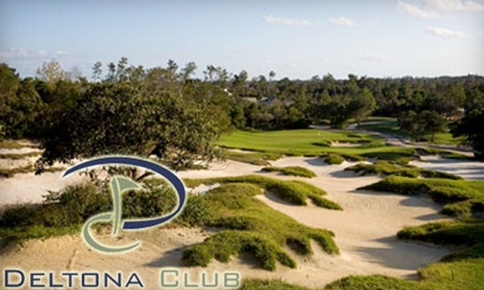 Deltona Club - Deltona Lakes: Golf Package at The Deltona Club. Choose Between Two Options.