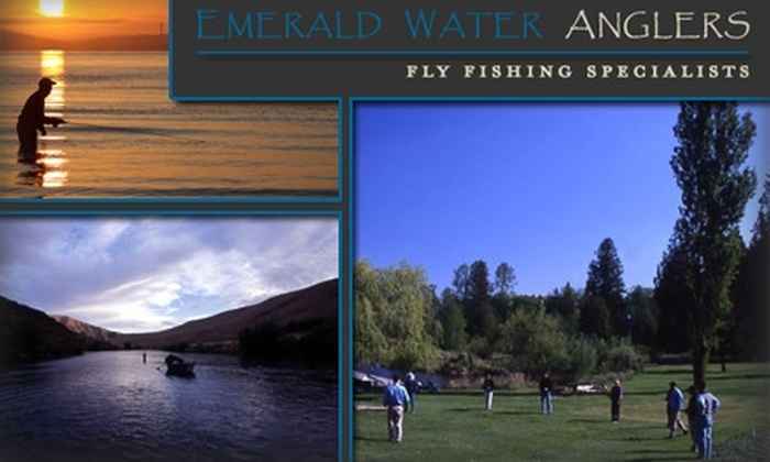 Emerald Water Anglers - Roxhill: $25 for a Two-Hour Single-Handed-Fly-Fishing Casting Clinic with Emerald Water Anglers