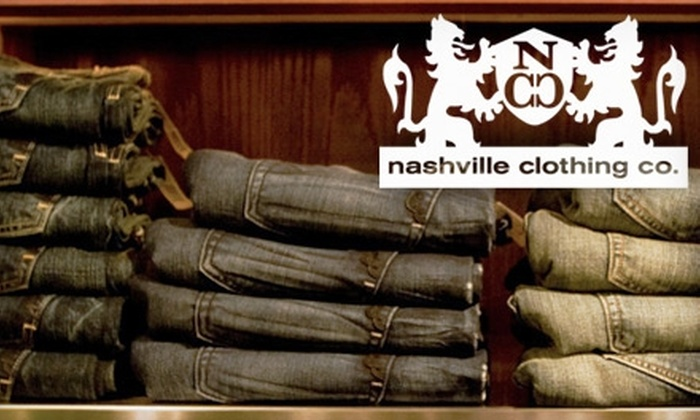 Nashville Clothing Co. - Downtown Nashville: $25 for $50 Worth of Designer Clothes and Accessories at Nashville Clothing Co.