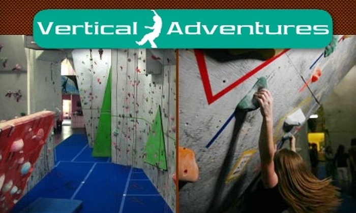 Vertical Adventures Manitoba - Inkster Industrial Park: $10 for a One-Day Climbing Pass Plus Equipment at Vertical Adventures Manitoba