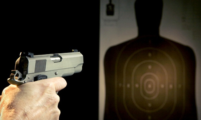 Texas Thunder Range - Leon Valley,Northwest: Shooting-Range Package for Two with Gun-Rental Option at Texas Thunder Range in Leon Valley (Up to 52% Off)