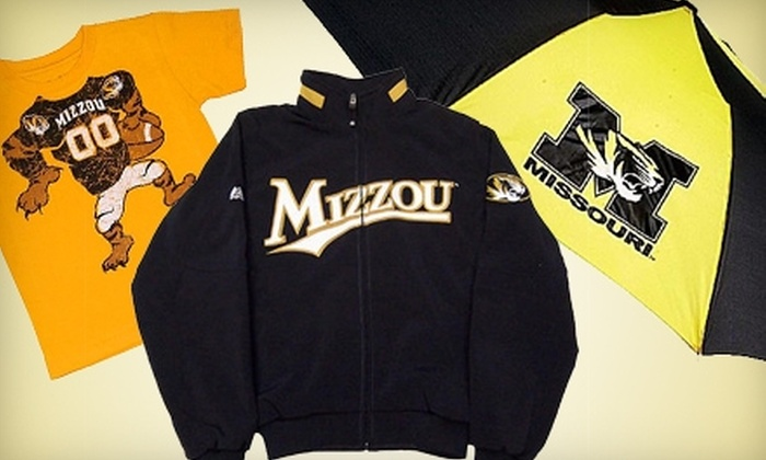 Tiger Spirit - Columbia, MO: $10 for $20 Worth of University of Missouri Apparel and More at Tiger Spirit