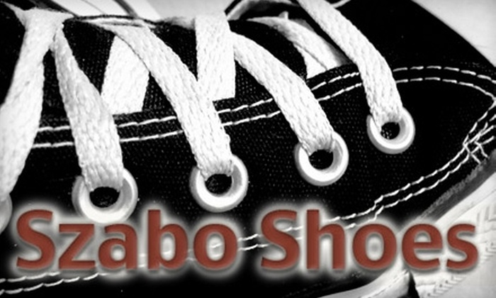 Szabo Shoes - Rocky River: $29 for $65 Worth of Footwear from Szabo Shoes