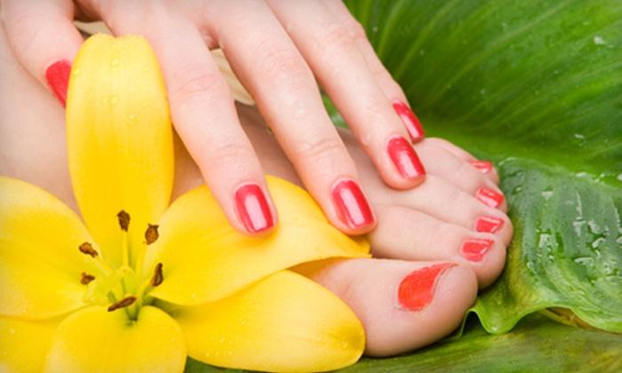 Artistic Nail & Spa - Midtown: Spa Mani-Pedis at Artistic Nail & Spa
