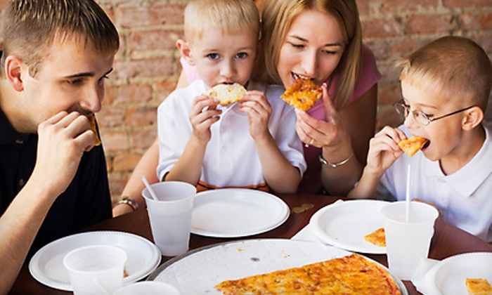 Sparkys Pizzeria and Grill - Jackson: Pizza and Grilled Fare in a 25-Person Party Package or for Dine-In at Sparky's Pizzeria and Grill in Jackson