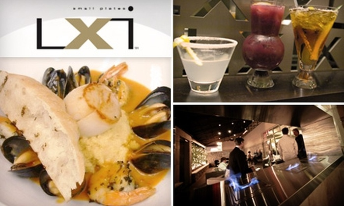 LXi - Holliday Hills: $15 for $30 Worth of Upscale Cuisine and Drinks at LXi