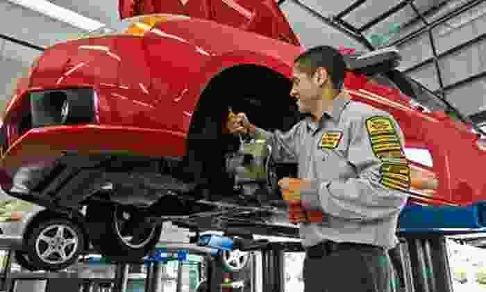 Precision Tune Auto Care Baltimore - Multiple Locations: Oil Change and Tire Rotation Packages at Precision Tune Auto Care. Two Options Available.