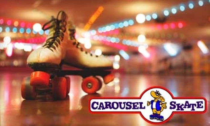 Carousel Skate - Sioux Falls: $3 for an Open Skating Admission at Carousel Skate (Up to $6.50 value)