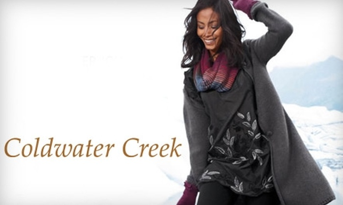 Coldwater Creek: $25 for $50 Worth of Women's Apparel and Accessories at Coldwater Creek