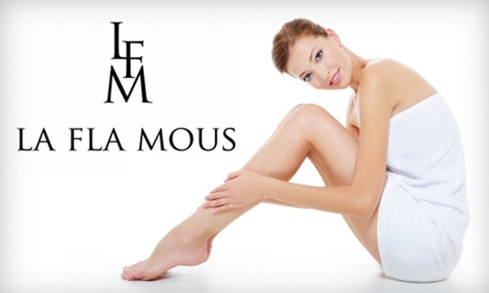 La Fla Mous - Whitmore Park: $80 for a Chemical Peel ($180 Value) or $20 for Waxing ($40 Value) at La Fla Mous. Choose From Two Options.