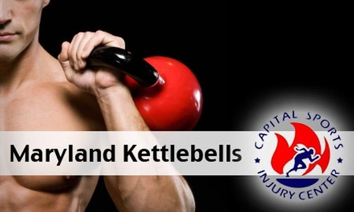 Capital Sports Injury Center - Calverton: $30 for Four Kettlebell Classes at Capital Sports Injury Center