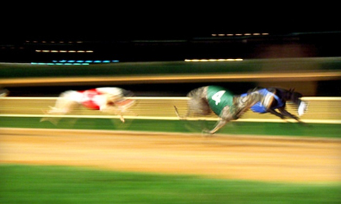 Sanford Orlando Kennel Club - The Pines: Greyhound Races Outing with Meal for Two or Four at Sanford Orlando Kennel Club in Longwood (Up to 57% Off)