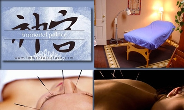 Immortal Palace - Berkeley: $39 for Acupuncture Session at Immortal Palace ($90 Value)