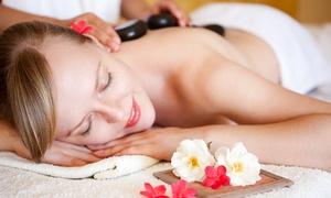 Chandra Retreat LA: Massage, Facial with Microdermabrasion, or Massage and Facial Package at Chandra Retreat LA (Up to 53% Off)