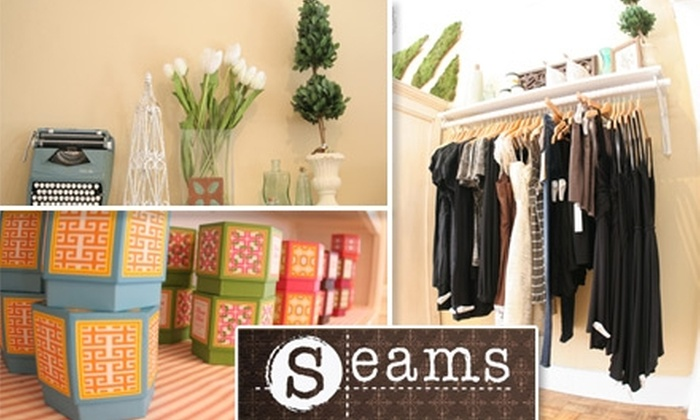 Seams Boutique - San Francisco: $25 for $50 Worth of Fashionable Garments, Accessories, and More at Seams Boutique