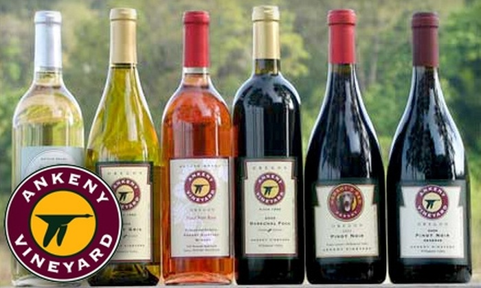 Ankeny Vineyard - Jefferson: $11 for Two-Person Wine Tasting and Souvenir Wine Glasses at Ankeny Vineyard ($22 Value)