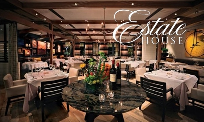 Estate House - Downtown Scottsdale: $25 for $50 Worth of New American Fare & Drinks at Estate House