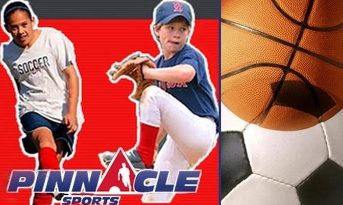 Pinnacle Sports - Cleveland: $79 for a One-Week Day Camp from Pinnacle Sports ($160 Value)