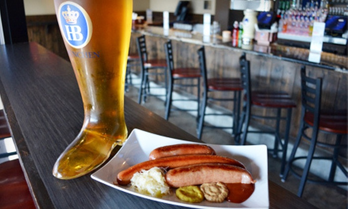 Bar Munich - Midtown,Montrose: German Fare at Bar Munich (Half Off). Two Options Available.