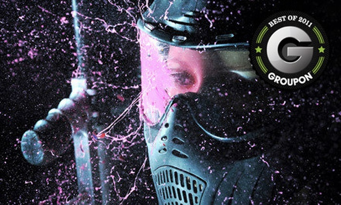 Panther Paintball - South Surrey: Paintball Package for Two or Five People at Panther Paintball in Surrey (Up to 54% Off)