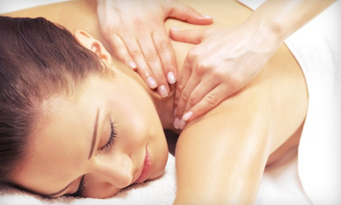 The SpAhhh - Lawrenceville: Spa Package with Facial, Massage, Paraffin Wax, and Beverage for One or Two at The SpAhhh in Lawrenceville (Up to 69% Off)