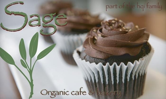 Sage Cafe - Stevens: $15 for a Dozen Vegan Cupcakes at Sage Cafe ($31 Value)
