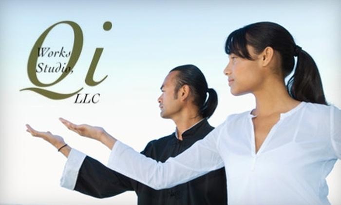 Qi Works Studio - Greenville: Qigong or Tai Chi Chuan Classes at Qi Works Studio. Choose from Three Options.