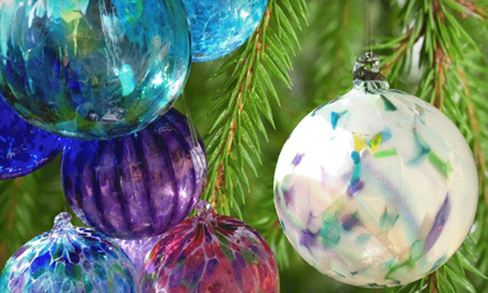 Girl Glass - North City Farms: Handmade Glass-Blown Ornaments or Art at Girl Glass (Up to 51% Off)