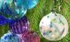 Handmade Glass-Blown Ornaments or Art