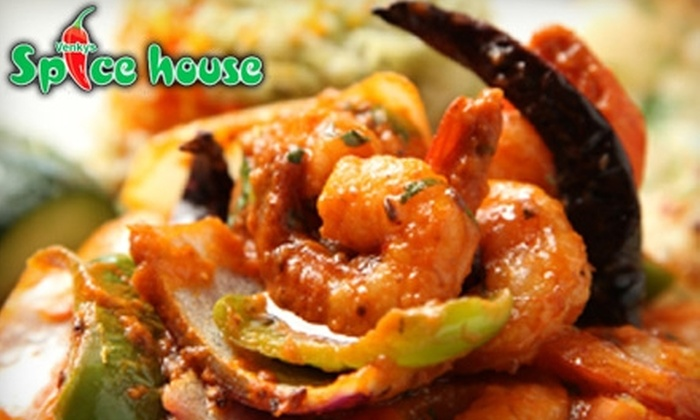 Venky's Spice House - Cross Creek: $12 for $25 Worth of Traditional Indian Fare and Drinks at Venky's Spice House