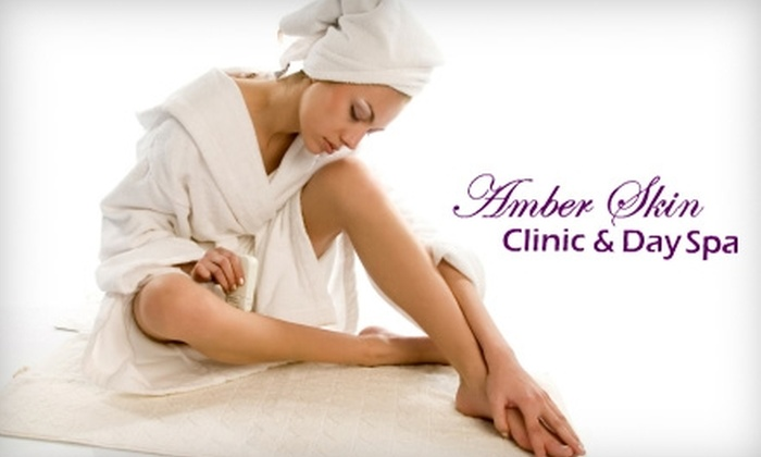 Amber Skin Clinic & Day Spa - Winter Park: Six Laser Hair-Removal Treatments at Amber Skin Clinic & Day Spa. Choose from Five Options.