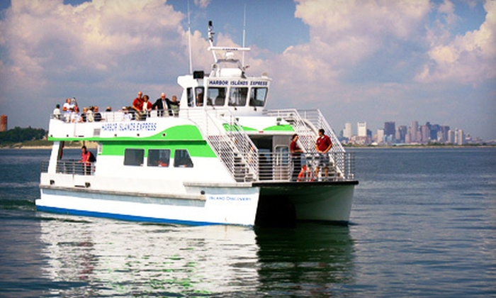 Boston's Best Cruises - North End: 60-Minute Harbor or 90-Minute National Historic Landmarks Sunset Cruise for Two or Four from Boston's Best Cruises (Up to 65% Off)