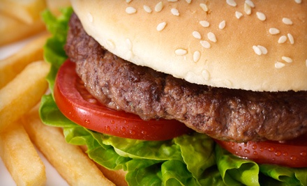 Burger Meal for 2 (an $11.56 total value) - Hot-in-Roll in Mississauga