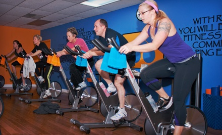 5 Spin Classes (up to a $60 value) - RydeOn in Saline