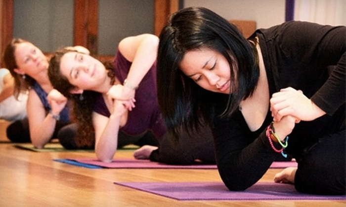 Embrace Yoga Studio - Downtown Fayetteville: $20 for a Five-Class Yoga Pass at Embrace Yoga Studio ($45 Value)