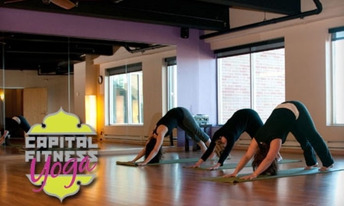 Capital Fitness - Old Market Place: $49 for 10 Yoga Classes at Capital Fitness ($150 Value)