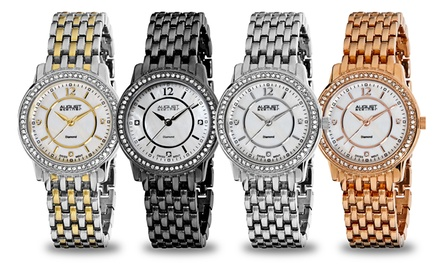 August Steiner Women's Diamond Dial Watch Collection