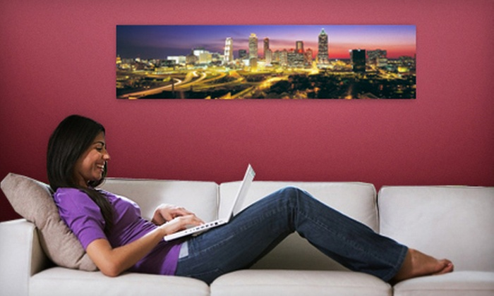 """Larger Than Life Prints: C$35 for a 48""""x12"""" Panoramic Wall Mural from Larger Than Life Prints (US$86 Value)"""