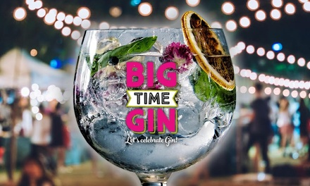 Big Time Gin Festival for Two on Saturday, 11 November at Edgbaston Stadium (50% Off)