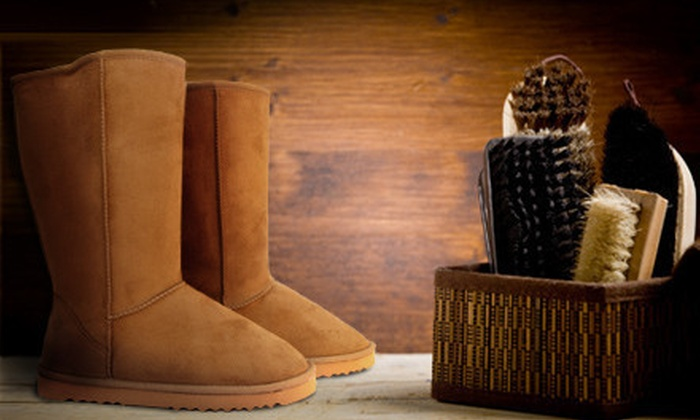 Enchanted Shoe Repair - Enchanted Shoe Repair: $15 for $30 Worth of Shoe Repair and Cleaning Services at Enchanted Shoe Repair in Dublin