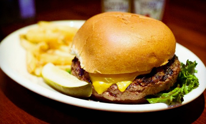 Tap House Grill Cincinnati - Concorde Hills: Burgers for Two with Appetizer and Dessert, or $9 for $20 Worth of American Food for Lunch at Tap House Grill Cincinnati