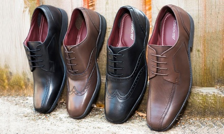 Men's Leather Shoes for £19.98 (67% Off)