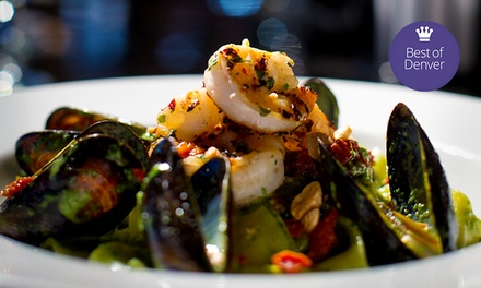 Italian-American Fusion Food and Drinks for Lunch, Brunch, or Dinner at Washington Park Grille (Up to 50% Off)