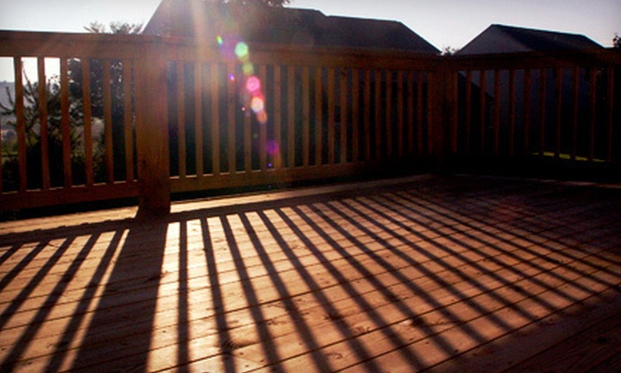 Bulldog Pressure Washing and Painting - Athens, GA: Deck Stain and Sealant Application from Bulldog Pressure Washing and Painting (Up to 79% Off). Three Options Available.