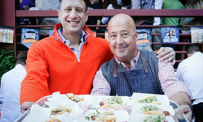 Food Network New York City Wine & Food Festival presented by FOOD & WINE - The Garden at Studio Square NYC: $99 for Entry to Oktoberfest sponsored by The Village Voice, presented by Jägermeister, and hosted by Andrew Zimmern on Sunday, October 19. All Food and Drink Included.
