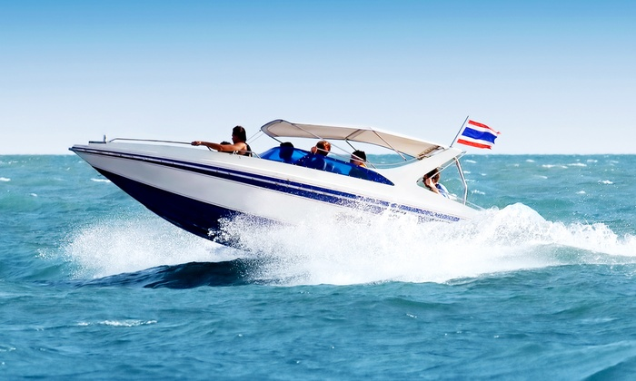 Best Wake Boat Rentals - West Austin: $125 for a Two-Hour Lake Austin Pontoon Cruise for Two from Best Wake Boat Rentals ($250 Value)