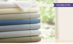 Symphony Collection 1,200 Thread Count Egyptian Cotton Rich Sheets Set