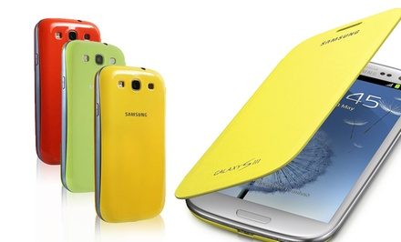 Samsung Galaxy Note II or S III Flip Cover. Multiple Colors Available. Free Returns.