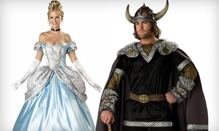 Victoria Costumes - Brentwood Bay: $35 for $75 Worth of Costume Rentals at Victoria Costumes