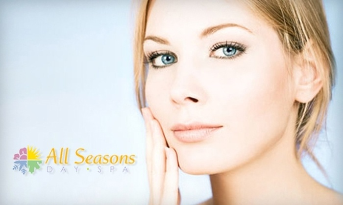 All Seasons Day Spa - Ludlow: $35 for a Classic Facial with an Enzyme Mask ($75 Value) or $12 for $25 Worth of Waxing Services at All Seasons Day Spa